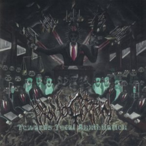 Provocation - Towards Total Annihilation cover art