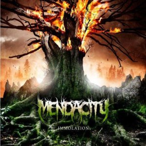 Mendacity - Immolation cover art
