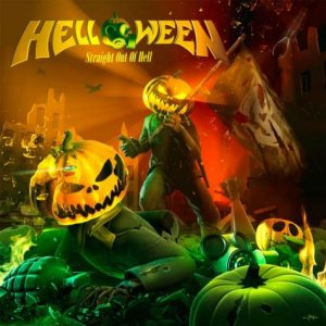 Helloween - Straight out of Hell cover art