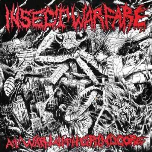 Insect Warfare - At War with Grindcore cover art