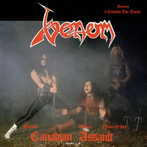 Venom - Canadian Assault cover art