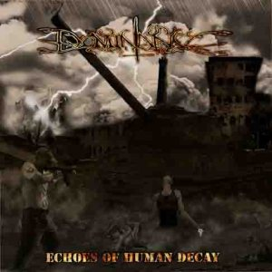Dominance - Echoes of Human Decay cover art
