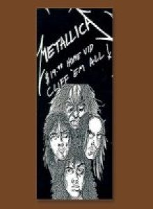 Metallica - Cliff 'em All cover art