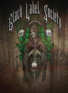 Black Label Society - Unblackened cover art