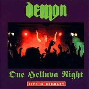 Demon - One Helluva Night cover art