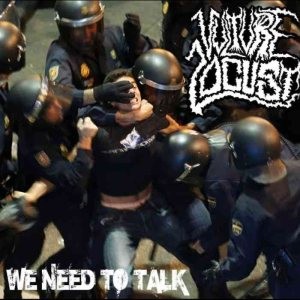 Vulture Locust - We Need to Talk cover art