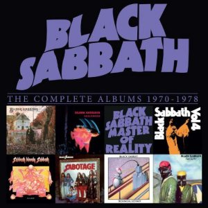 Black Sabbath - The Complete Albums Box 1970-1978 cover art