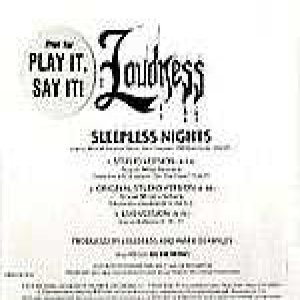 Loudness - Sleepless Nights cover art