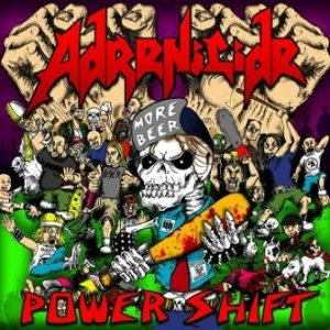 Adrenicide - Power Shift cover art