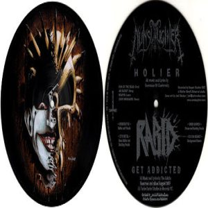 Nunslaughter - Nunslaughter / Rabid cover art
