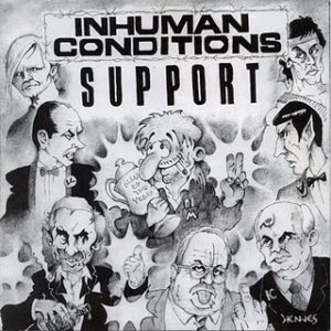 Inhuman Conditions - Support cover art