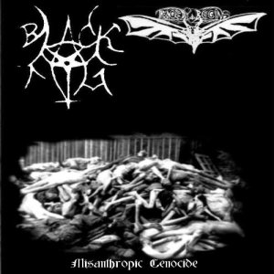 Black Fog - Misanthropic Genocide cover art