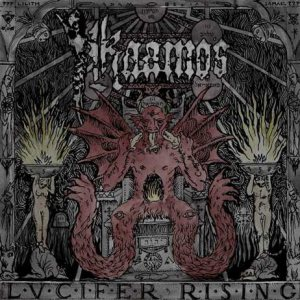 Kaamos - Lucifer Rising cover art