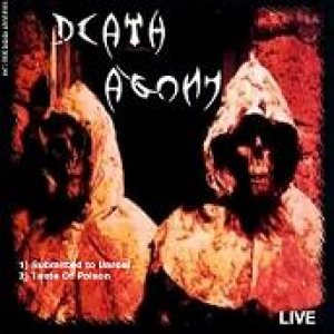 Death Agony - Live cover art