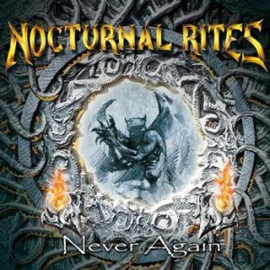 Nocturnal Rites - Never Again cover art