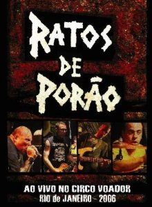 Ratos de Porão - Ao Vivo no Circo Voador cover art