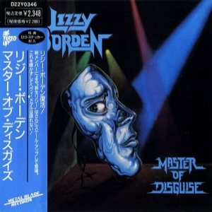 Lizzy Borden - Master of Disguise cover art