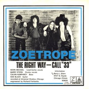 Zoetrope - The Right Way cover art