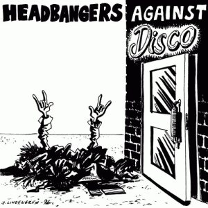 Terror Squad / Cianide - Headbangers Against Disco Vol. 3 cover art