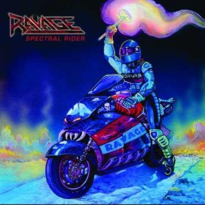 Ravage - Spectral Rider cover art