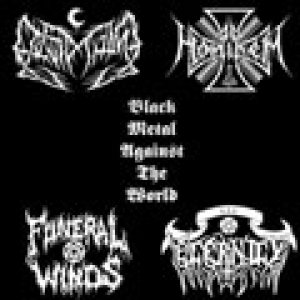 Funeral Winds / Leviathan / Ad Hominem / Eternity - Black Metal Against the World cover art