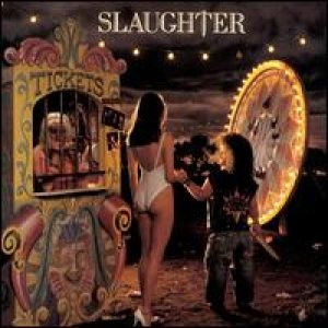 Slaughter - Stick It Live cover art