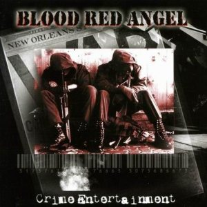 Blood Red Angel - Crime entertainment cover art