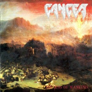 Cancer - The Sins of Mankind cover art