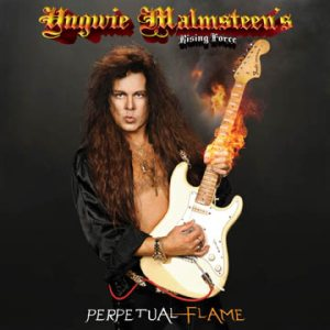 Yngwie Malmsteen's Rising Force - Perpetual Flame cover art