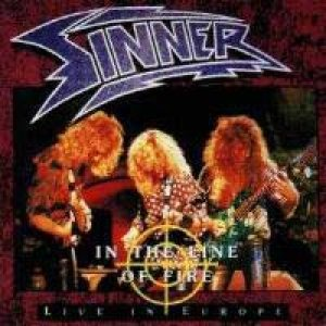 Sinner - In the Line of Fire cover art