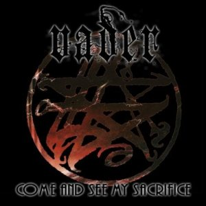 Vader - Come and See My Sacrifice cover art