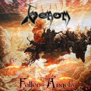 Venom - Fallen Angels cover art