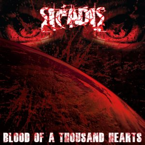 Sicadis - Blood of a Thousand Hearts cover art