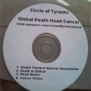 Circle Of Tyrants - Global Death Head Cancer cover art