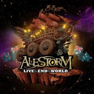 Alestorm - Live At the End of the World cover art