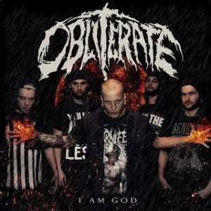 Obliterate - I Am God cover art