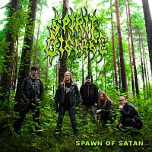 Spirit Disease - Spawn of Satan cover art
