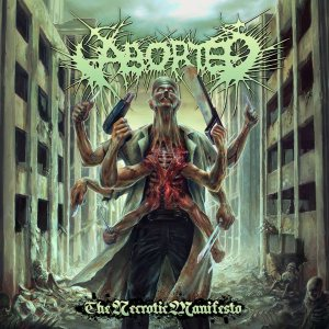 Aborted - The Necrotic Manifesto cover art