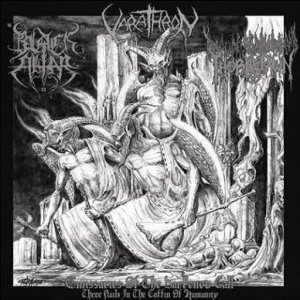 Varathron - Emissaries of the Darkened Call - Three Nails in the Coffin of Humanity cover art