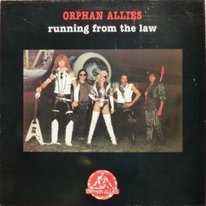 Orphan Allies - Running from the Law cover art
