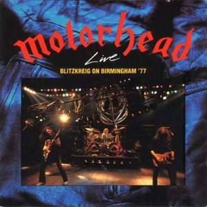 Motorhead - Blitzkrieg on Birmingham '77 cover art