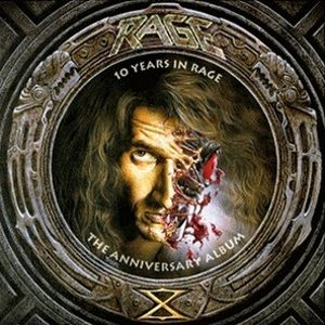 Rage - 10 Years in Rage cover art