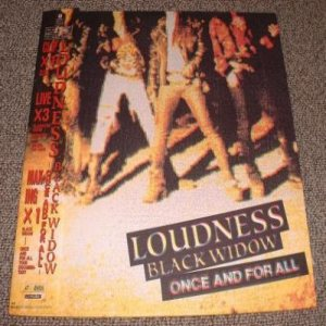 Loudness - Black Widow cover art