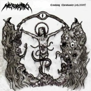 Necrobastard - Crushing Christianity cover art