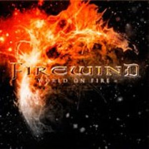 Firewind - World on Fire cover art
