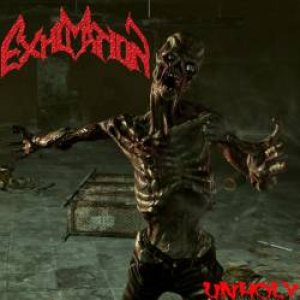 Exhumation - Unholy cover art
