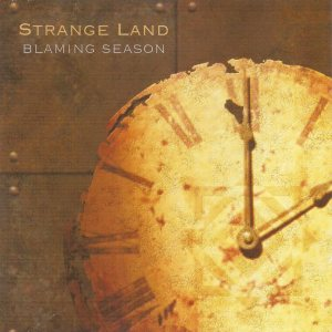 Strange Land - Blaming Season cover art