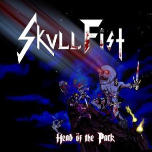 Skull Fist - Head öf the Pack cover art