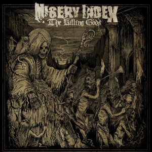 Misery Index - The Killing Gods cover art