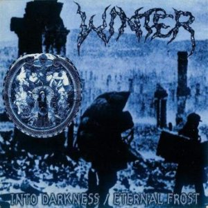 Winter - Into Darkness / Eternal Frost cover art